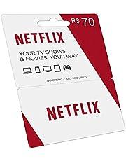 Cartão Pré-pago Netflix R$ 70 Reais Gift Card