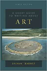 Short guide to writing about art sylvan barnet pdf free