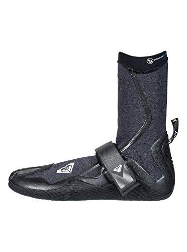 (Roxy Womens 3Mm Performance - Split Toe Surf Boots - Women - 8 - Black Black)