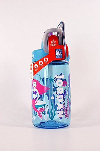 Personalized .4L Kid's Mermaids Camelbak (Kids Personalized Name Water Bottle)