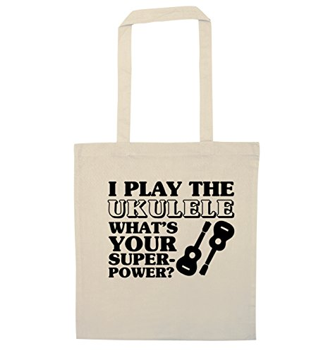Es De ¿cuál Creative Bolso Ukelele Su El I Creativa Flox Superpotencia Play Bag Superpower Tote The Flox What's Ukulele Toco Natural Mano Naturales Your qAwvaqz