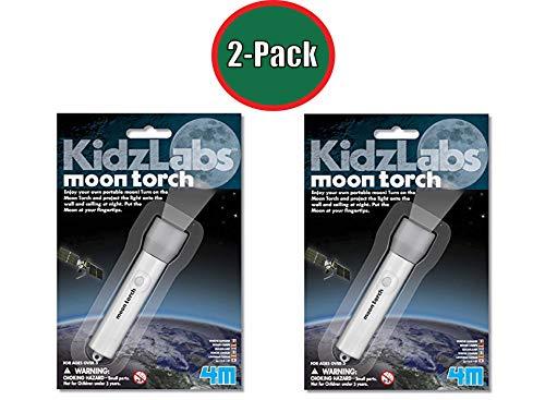 4M Kidz Labs Moon Torch