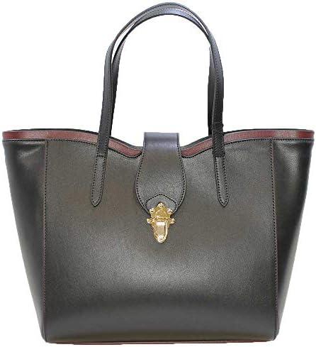 Tosca Blu , Sac pour femme à porter à l'épaule Noir Noir 44x30x16cm