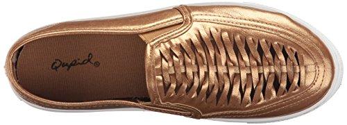 Qupid Womens Reba-127d Mode Sneaker Bronze