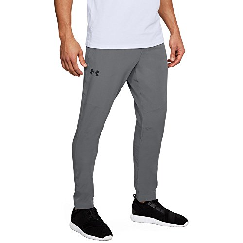 Under Armour Men's Wg Woven Pants, Graphite (040)/Black, Small by Under Armour (Image #1)