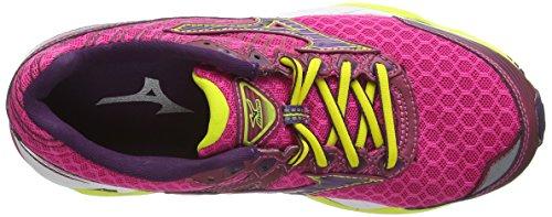 Rose Wave Shadow de Purple Paradox Fuschia Mizuno Chaussures W 2 Entrainement Femme Running BqAaAz