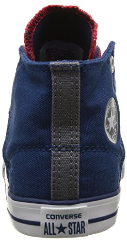 Converse Ctas Ea Slip Hi 064170-34-4 Unisex - Kinder Sneaker Rot (Rouge/Marine)