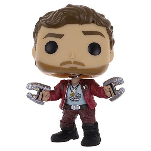 Popular Guardians of the Galaxy Vol.2 Vinyl Qute Figure Figurine Gift(Star-Lord)