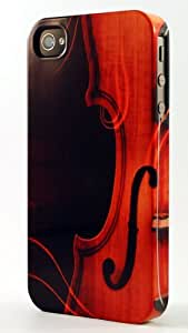 Violin Clip Dimensional Case Fits iPhone 5 or iPhone 5s by supermalls