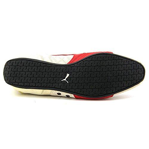 Puma Dames Ferrari Supersqualo Lo Lage Top Leer Mode Sneaker Berk / Rosso Corsa