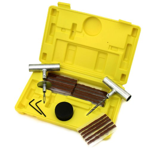 XtremepowerUS 35 Pc Heavy Duty Tubeless Tire Repair Kit