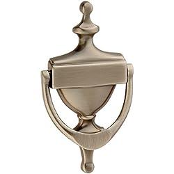 Baldwin 0110151 Victorian Door Knocker, Antique Nickel