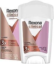 Rexona Antitranspirante Clinical Classic en crema para dama 48 g