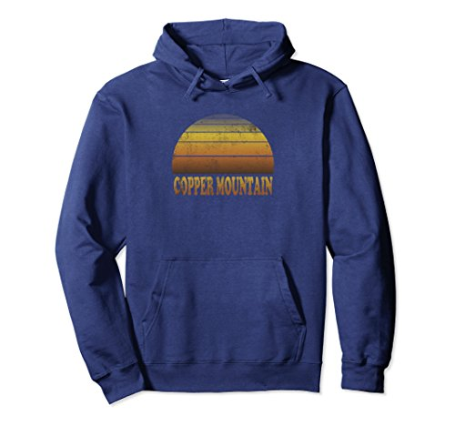 Unisex Copper Mountain Hooded Sweatshirt Clothes Adult Teen Kids XL: - Mountain Sweatshirt Copper