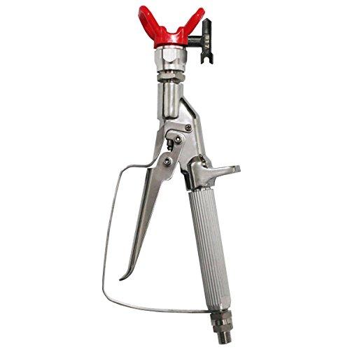 Commercial Airless Paint Sprayer - DUSICHIN DUS-236 Airless Paint Spray Gun, Inline celling Spray, High Pressure 3600 PSI 517 TIP Swivel Joint