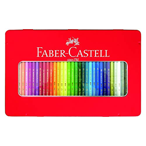 Shachihata watercolor pencils Faber-Castell TFC-WCP / 36C 36-color set