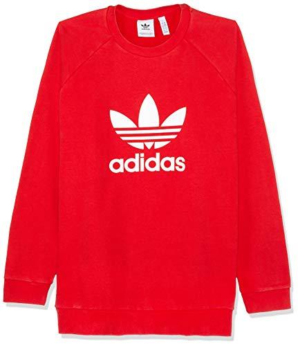 Homme Crew Trefoil shirt Collegiate Adidas Red Sweat qS1Uwfv