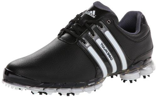 Adidas Men's Tour 360 ATV M1 Golf Shoe,Black/White/Dark S...