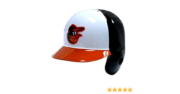 Amazon.com : Baltimore Orioles Official Batting Helmet - Left Flap : Baseball Batting Helmets : Sports & Outdoors