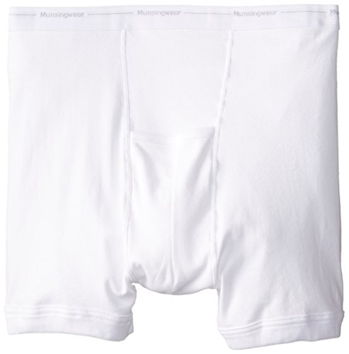 Munsingwear Men's Big Man Boxer Brief,White,3x - Munsingwear Mens Pouch Underwear