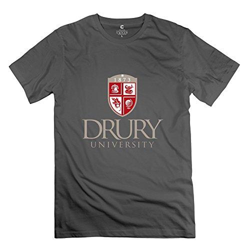 Leberts Fashion Drury University T-Shirt For Men DeepHeather Size S (Honus Wagner Shirt compare prices)