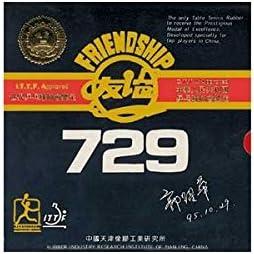 FRIENDSHIP 729FX Super Tenis de Mesa Caucho