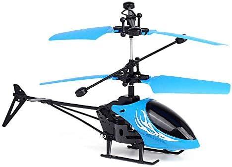 おもちゃのモデル誘導航空機サスペンション子供のおもちゃUSB充電航空機のおもちゃ、ヘリコプター、子供の最高の誕生日(色:赤)
