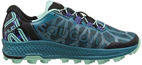 Koa turquoise Saucony Femme Chaussures St Vert Fitness noir De vwqwfOx7