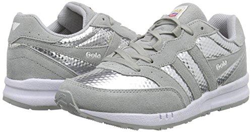 Argento silver Samurai Basse Sneaker Gola Donna argento Hex PqwxO