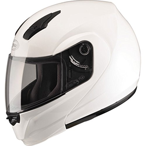 GMAX Unisex-Adult Full-face Style G104085 04 Modular Street Helmet White m (Medium)