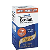 Bausch & Lomb Boston Simplus Travel Kit-1 oz, 2 ct (Quantity of 3)