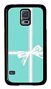 Gift Ribbons PC Black Hard Case Cover Skin For Samsung Galaxy S5 I9600