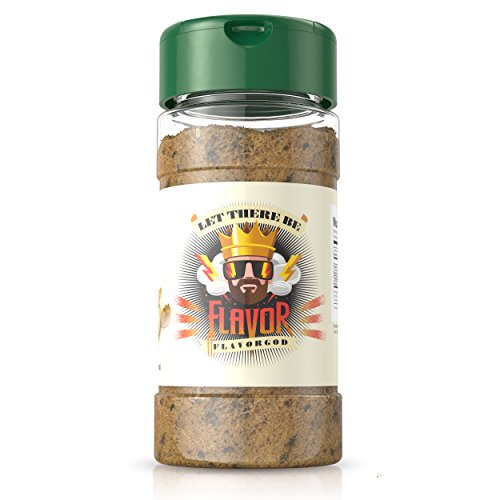 Flavor God #1 Best-Selling, Garlic Lovers Seasoning, 1 Bottle, 5 oz