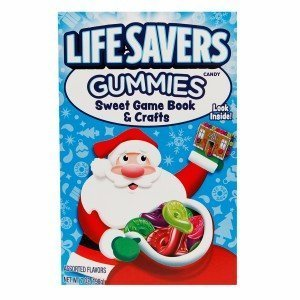 Lifesavers Gummies Sweet Game Book, 7oz Candy Book -