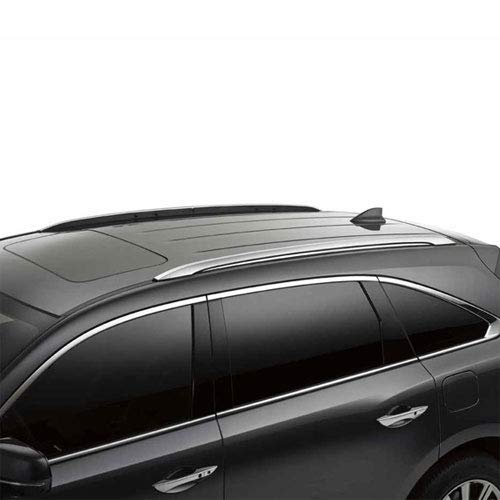 VGRCB-1968AL compatible with 2014 2019 Acura MDX Roof Rack Black Cross Bar OE Style