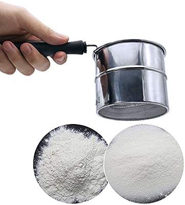 Amazon.com: SimplylinNew - Filtro tamiz de harina de acero ...