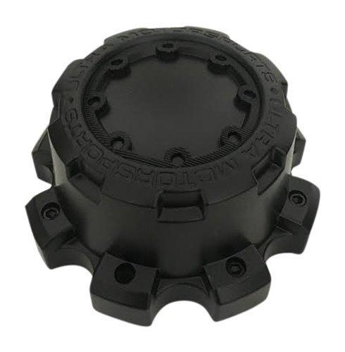 9880 Matte - Ultra Wheels C800804 89-9880 Matte Black Wheel Center Cap