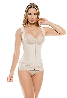 1338 Women's Ultra-Compression Slimming Corset - Thermal Open Bust Body Shaper