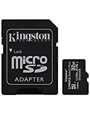 Kingston Canvas Select Plus microSD-kaart Inclusief SD-adapter 32 GB
