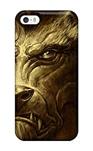 Iphone 5/5s QWpkiCC10551nStjz World Of Warcraft Tpu Silicone Gel Case Cover. Fits Iphone 5/5s