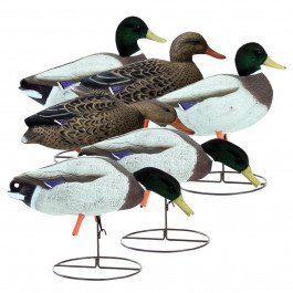 Higdon Magnum Mallard Full-Body Flocked Heads (Variety Pk/6)