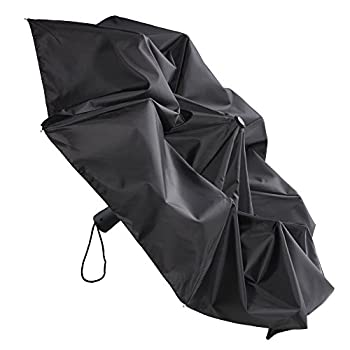 Lewis N. Clark Compact & Lightweight Travel Umbrella Opens & Closes Automatically, Black, One Size 4