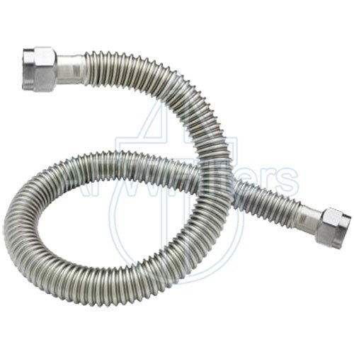 24'' Corrugated Stainless Steel Flexible Water Line - 1'' Female NPT