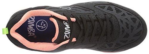 Nero Fuze Scarpe Donna Black Energy Coral Zumba Fitness xq6a7wXASE