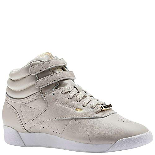 Reebok Women's F/S Hi Muted Walking Shoe, Sandstone/White, 6.5 M US