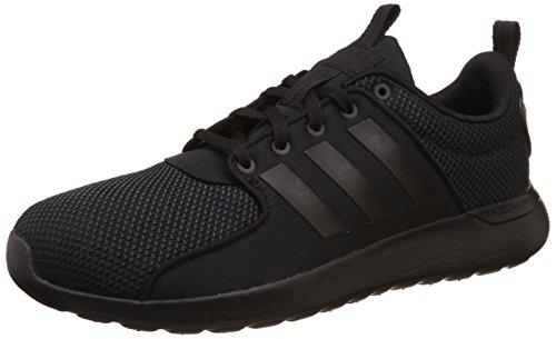 adidas Cloudfoam Lite Racer W, Zapatilla de Deporte Baja del Cuello para Mujer, Negro (Negbas/Negbas/Negbas), 42 EU