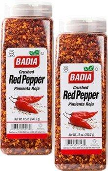 Badia Pepper Red Crushed 12 oz Pack of 2