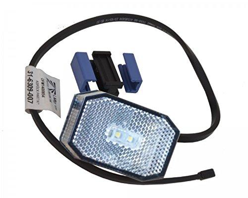 Aspö ck LED con Flexi Point 1 bianco –  con DC cavo piatto, connettore di DC FKAnhängerteile