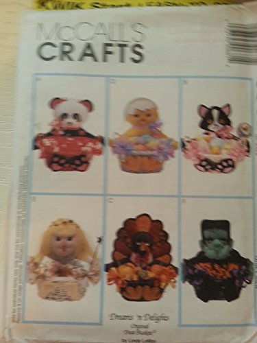 OOP McCall's Crafts Pattern 9068. Six 12