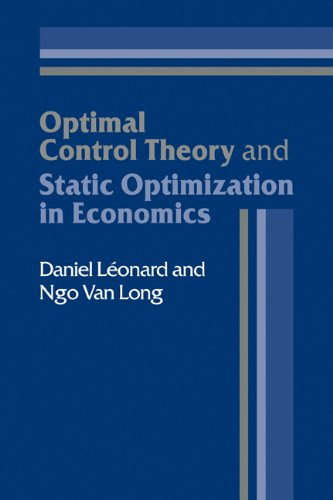 Image for Optimal Control Theory and Static Optimization in Economics